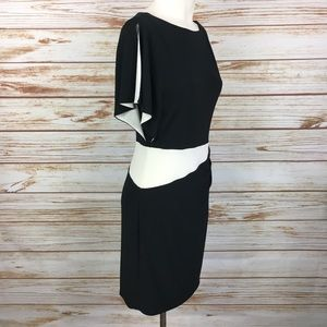 Ralph Lauren Split Shoulder Dolman Dress 8P